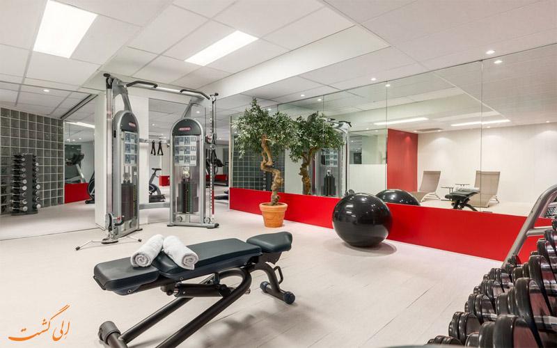 خدمات رفاهی هتل ان اچ کالکشن آمستردام- مرکز تناسب اندام