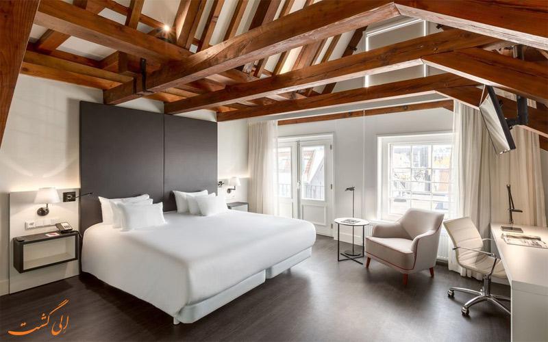 امکانات اتاق های هتل ان اچ کالکشن آمستردام