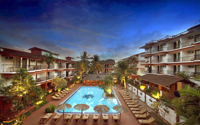 امکانات تفریحی هتل پراید سان ویلیج گوا- نمای استخر