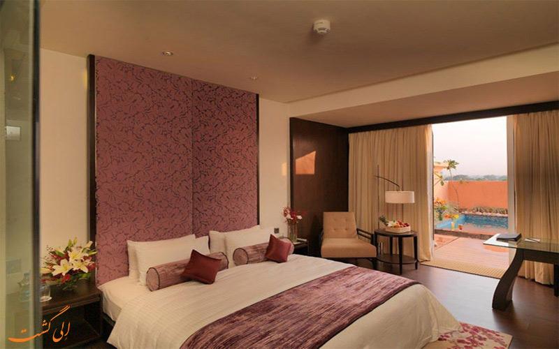 انواع اتاق های هتل رویال ارکید جیپور