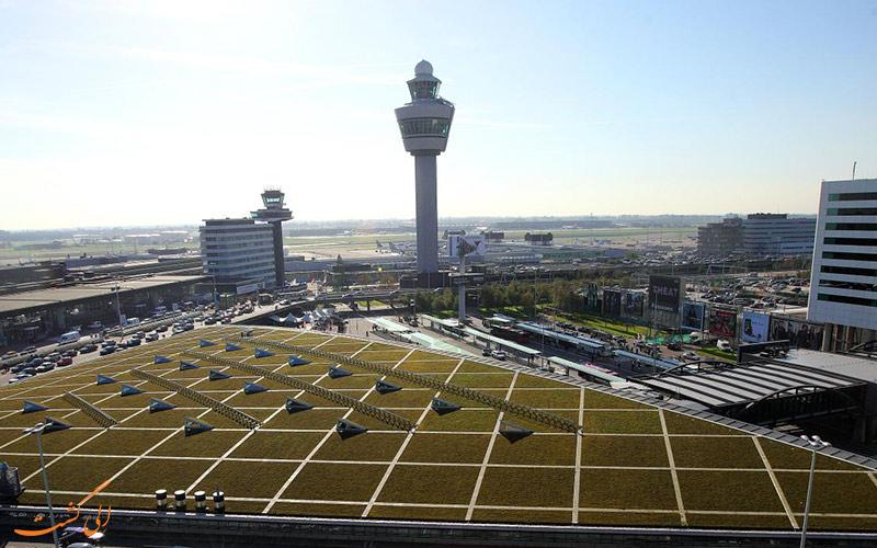 معرفی فرودگاه بین المللی اسخیپول آمستردام