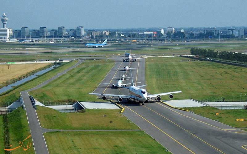 باند پرواز فرودگاه اسپیخول