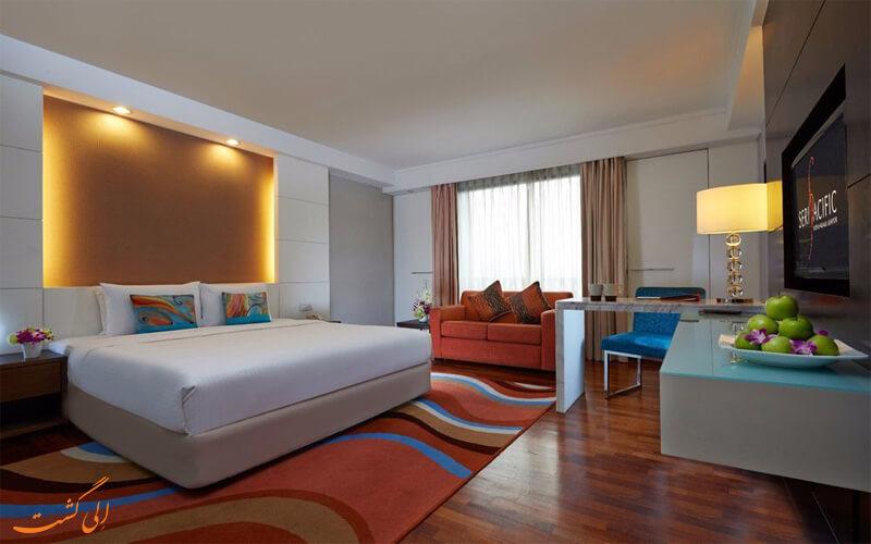 امکانات اتاق های هتل سری پاسیفیک کوالالامپور