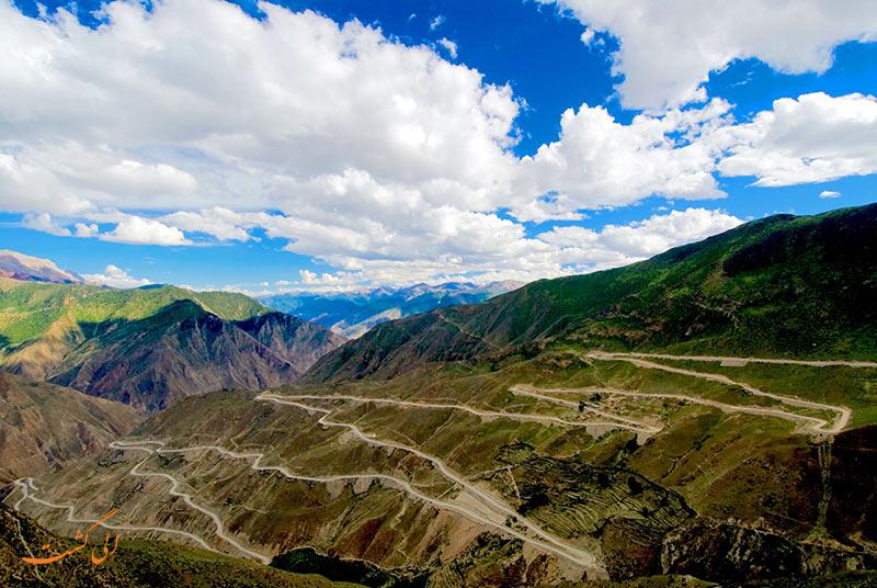 بزرگراه سیچوان در تبت   خطرناک ترین جاده های جهان