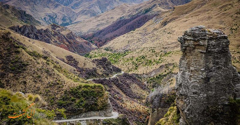 جاده دره اسکیپرز   خطرناک ترین جاده های جهان