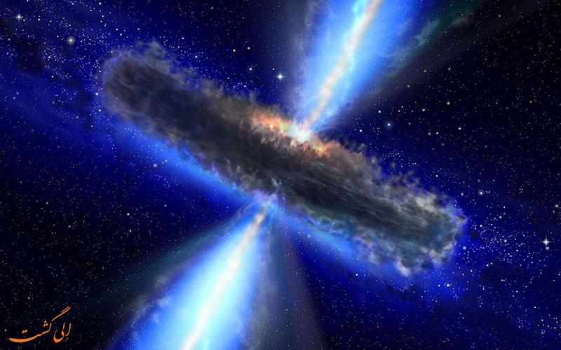 تشکیل سیاه چاله ها