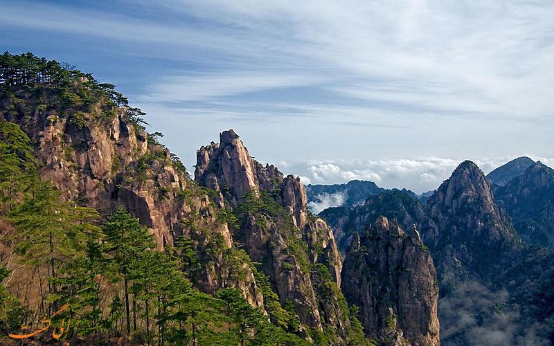 کوهستان زرد در چین
