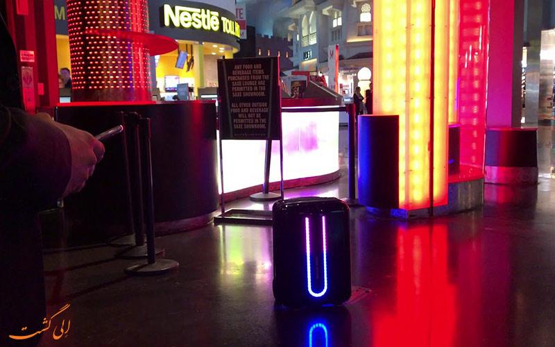 هوشمندچراغ های چمدان LED