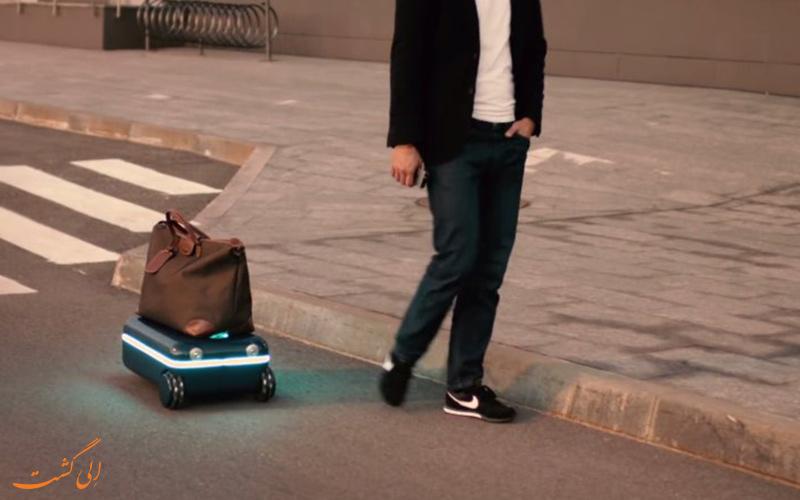 حمل چدان های دیگر به وسیله ی چمدان هوشمند