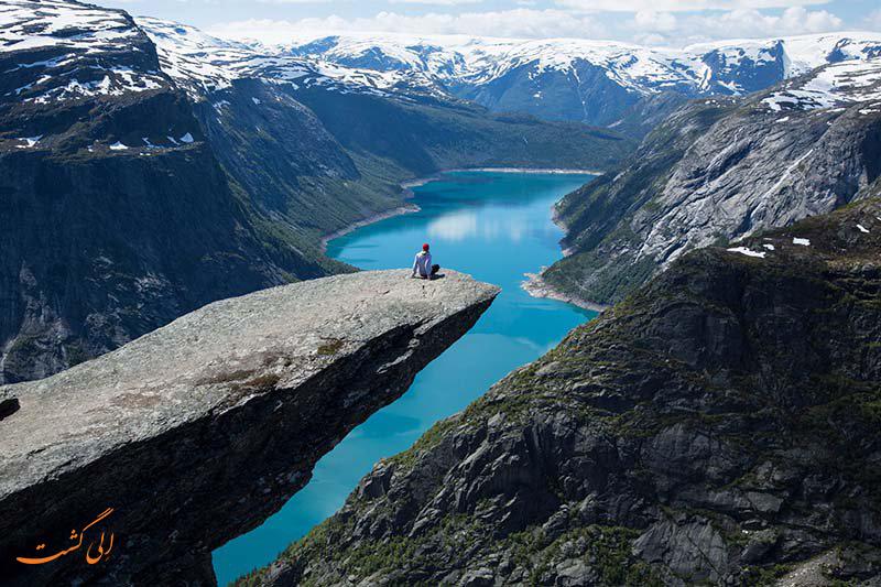 صخره Trolltunga نروژ