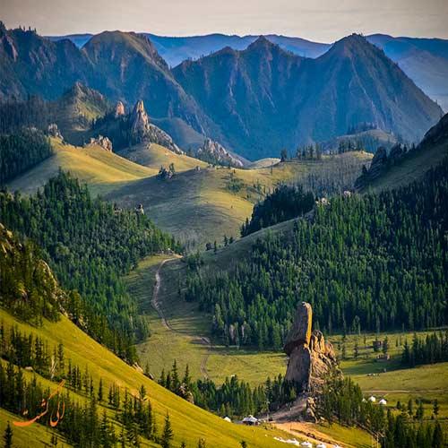 عکسهایی از کشور مغولستان