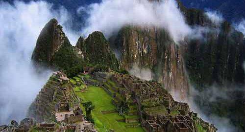 ماچوپیچو در پرو