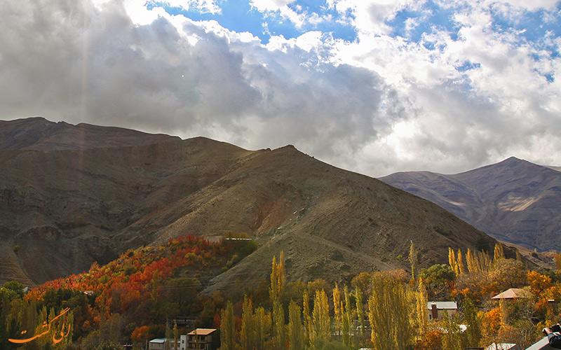 کوهای روستای آهار