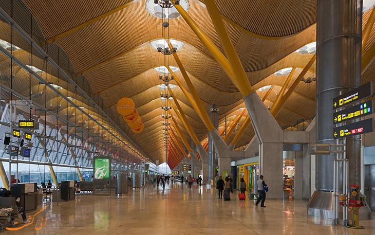 ترمینال فرودگاه باراخاس مادرید