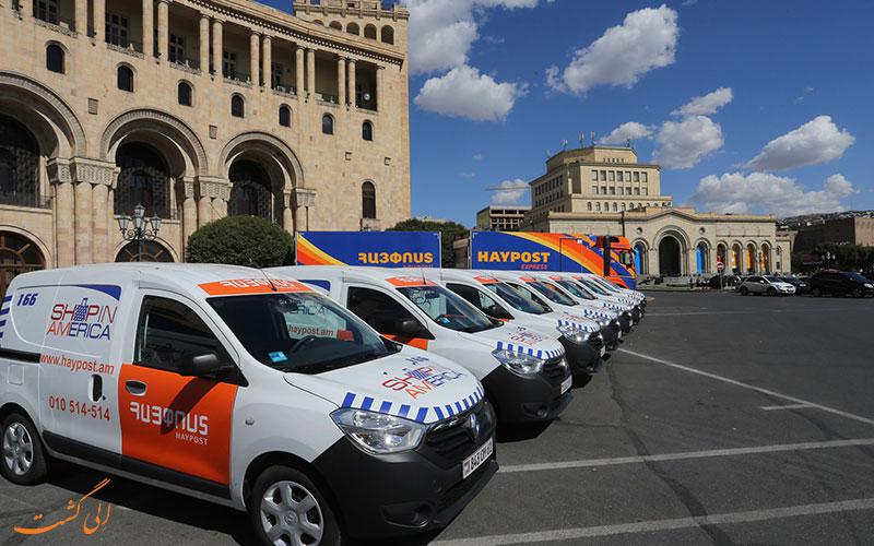حمل و نقل عمومی در ارمنستان