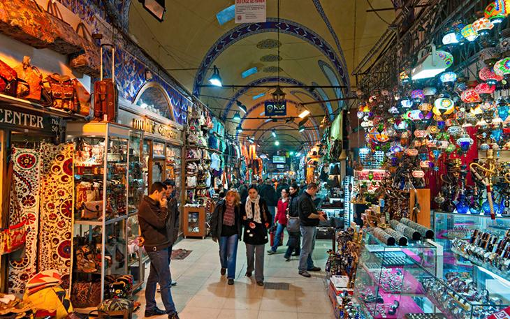 بازارهای شهر استانبول