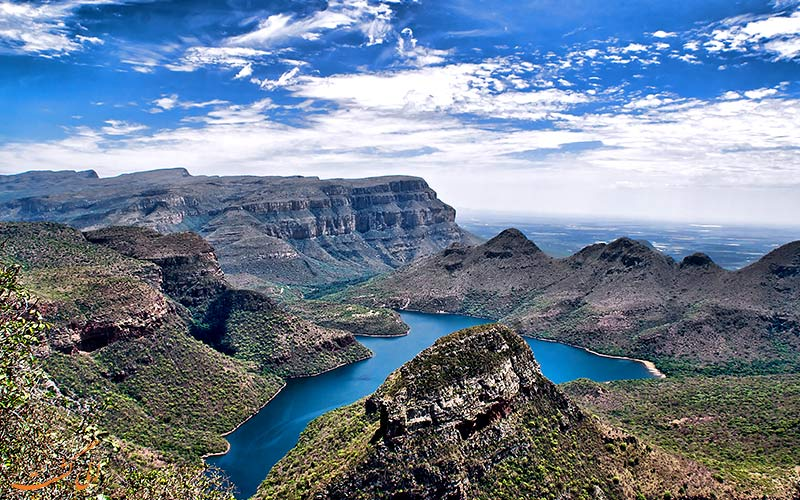دره های باور نکردنی در آفریقای حنوبی