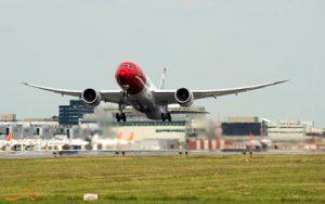 پرواز نیویورک به لندن