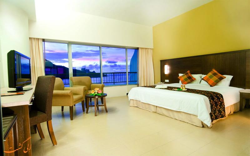 هتل فلامینگو پنانگ انواع اتاق های هتل