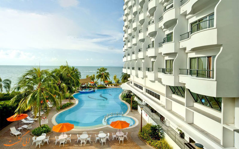 امکانات تفریحی هتل فلامینگو بای د بیچ پنانگ