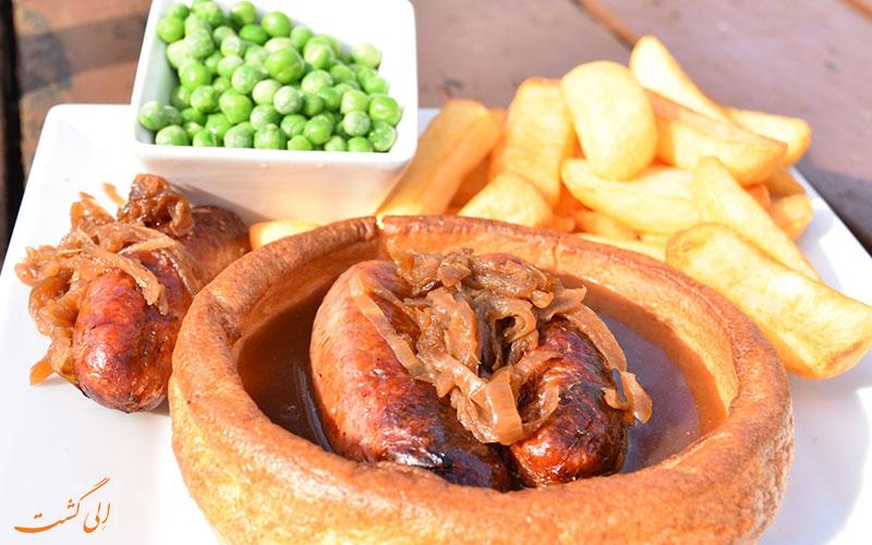 غذاهای انگلیسی