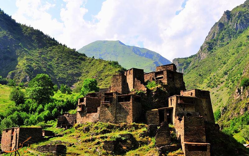 روستاهای مستحکم گرجستان