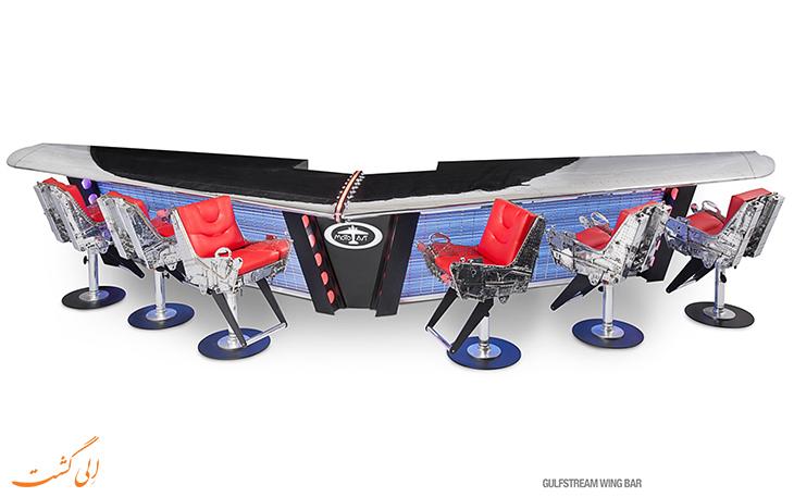 تبدیل قطعات هواپیما به میز کنفرانس