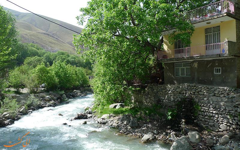محله قدیمی شهر تهران