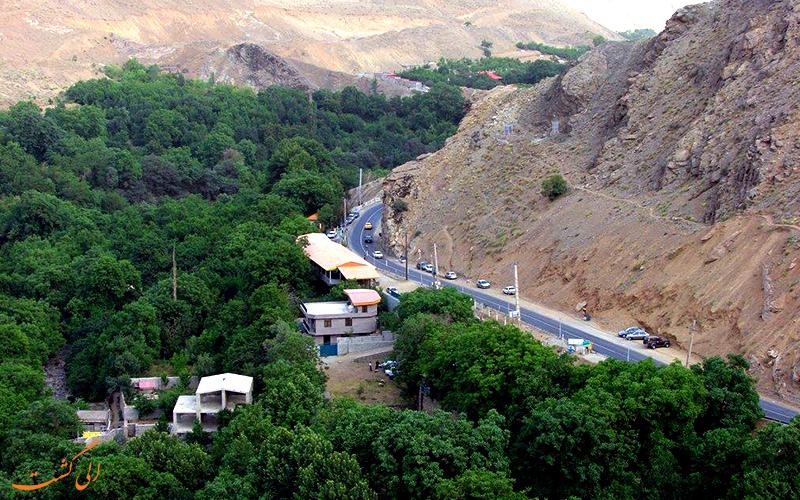 محله خوش آب و هوای تهران