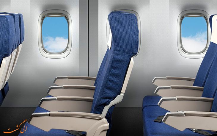 نتایج تحقیق امن ترین صندلی هواپیما