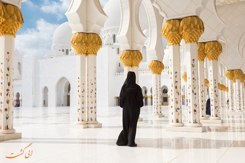 معماری مسجد شیخ زاید