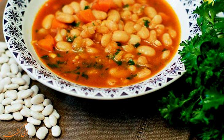 سوپ لوبیا
