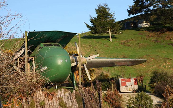 هتل هواپیما در نیوزلند