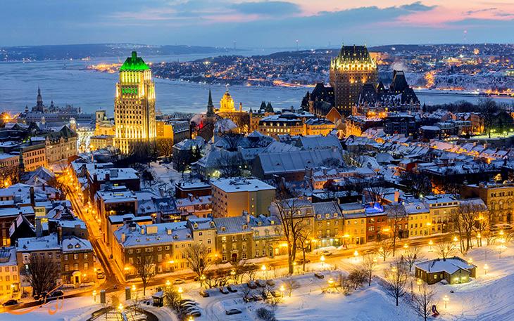 شهر کبک در کانادا