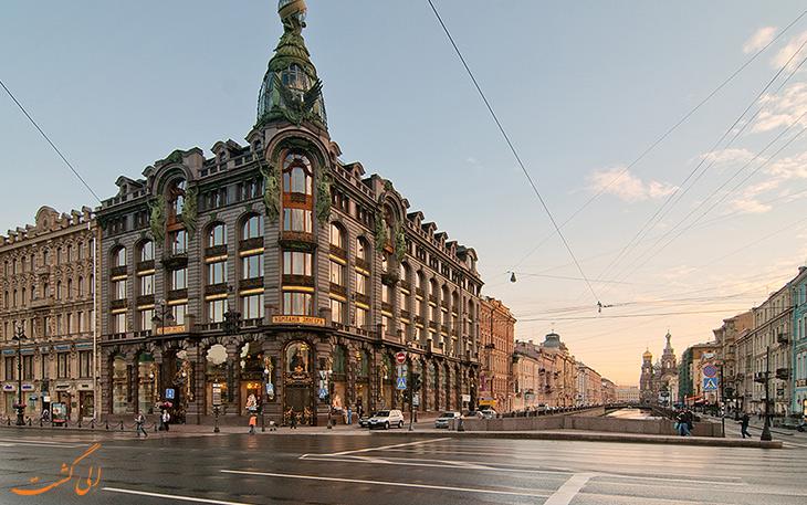 راهنمای مسافرتی به شهر سن پترزبورگ