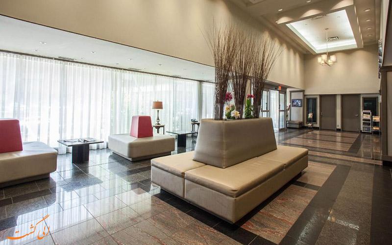 لابی هتل اسپرسو مونترال سنتر ویل