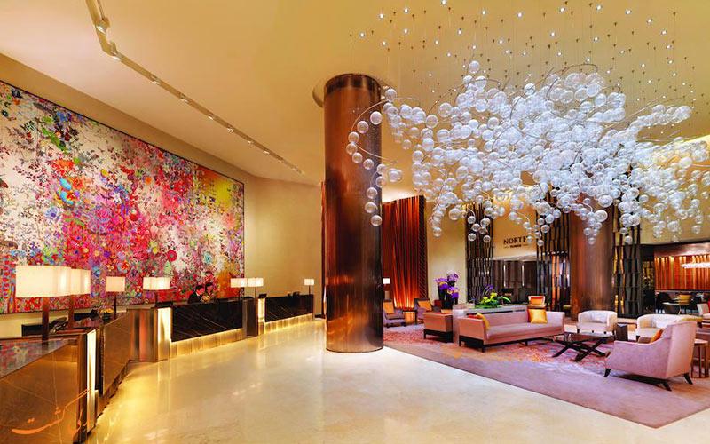 هتل فرمونت سنگاپور | لابی