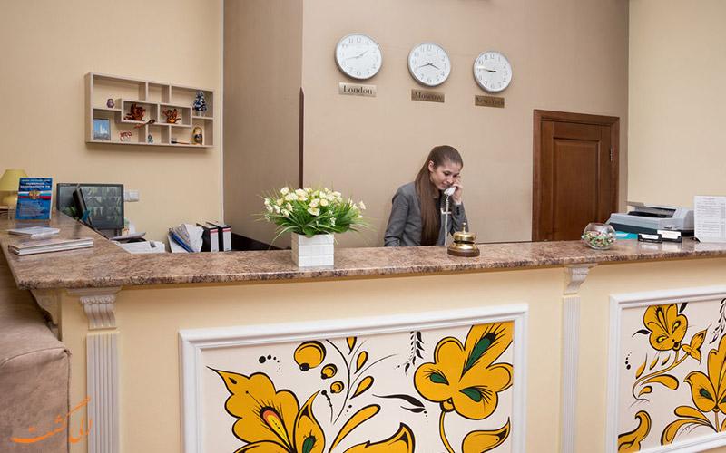 هتل مترشکا مسکو | پذیرش