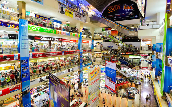 مراکز خرید کشور تایلند