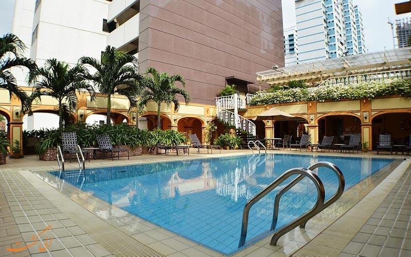 هتل گرند پاسیفیک سنگاپور | استخر