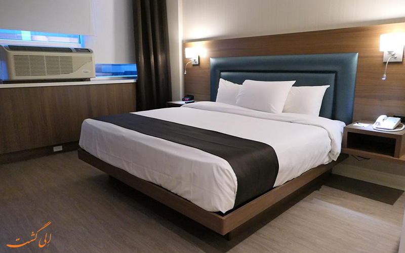 نمونه اتاق هتل اسپرسو مونترال سنتر ویل