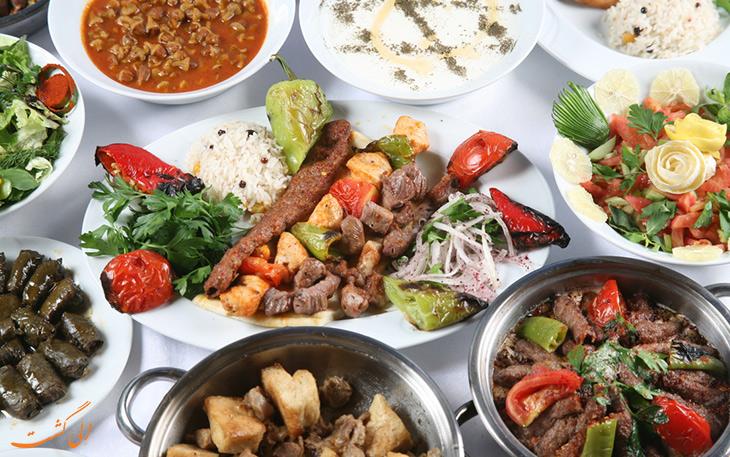 هزینه خورد و خوراک در شهر مارماریس