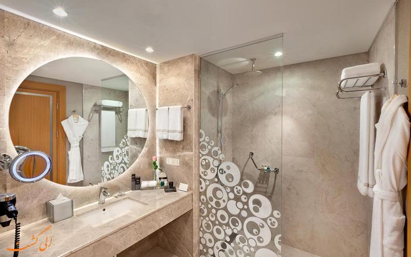 سرویس حمام اتاق هتل دیوان اربیل