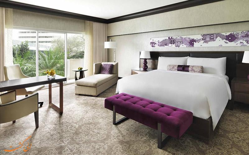 هتل فرمونت سنگاپور | نمونه اتاق