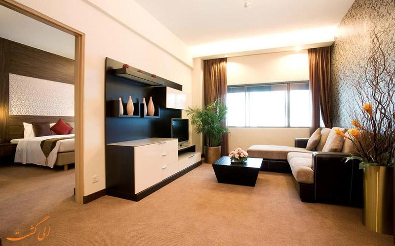 هتل گرند پاسیفیک سنگاپور | سوییت