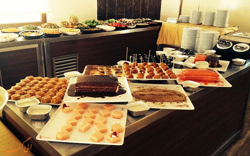 هتل بلمار کوش آداسی | بوفه رستوران