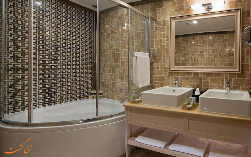 هتل دیوان سوئیتس باتومی | سرویس حمام