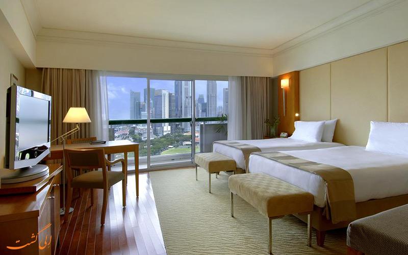 هتل فرمونت سنگاپور | نمونه اتاق 3