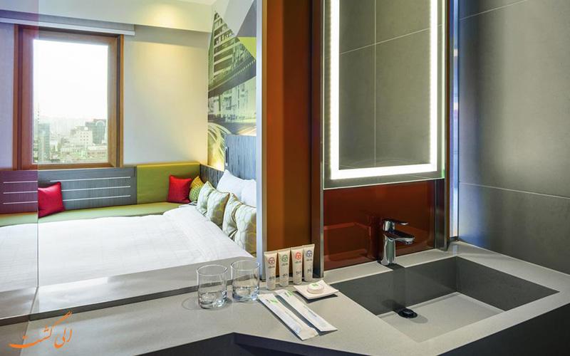 اتاق هتل ایبیس امبسدر گانگنام سئول کره