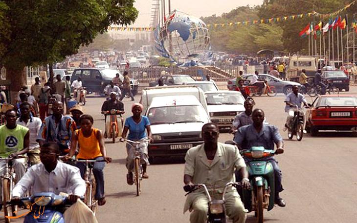 هزینه های حمل و نقل در بورکینافاسو